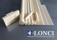 Slip Casting High Temperature Customized Alumina Rods