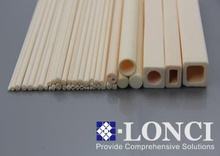 Single Double Four Hole Alumina Ceramic Insulation Tubes